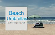 Best Beach Umbrella That Won't Blow Away - Finderists