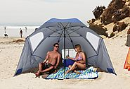 Sport-Brella Heavy Duty Beach Umbrella Review and Sale