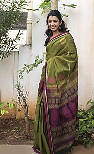 Trendy Cotton Sarees Online Shopping in India