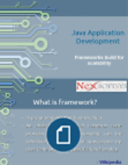 Choosing the best java application development framework