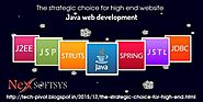 Standardize services in Java web development