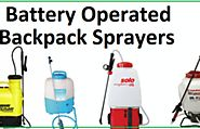 Affordable Battery Operated Backpack Sprayers