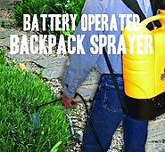 Top Battery Operated Backpack Sprayers -