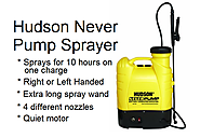 Hudson Battery Powered Backpack Sprayer – 13854 Never Pump Again