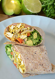 Amazing Healthy Vegan Breakfast Burritos