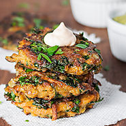 Sweet Potato & Kale Veggie Cakes - Natural Comfort Kitchen