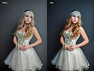 The professional photo retouching process for fashion industry