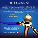 MLB Twitter Going Private with Blackberry