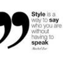 Fashion Quotes..