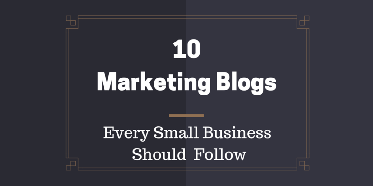 Headline for 10 Marketing Blogs Every Small Business Should Follow