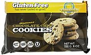 Kinnikinnick Foods Gluten-Free Cookies, Montana's Chocolate Chip, 8-Ounce Bags (Pack of 6)