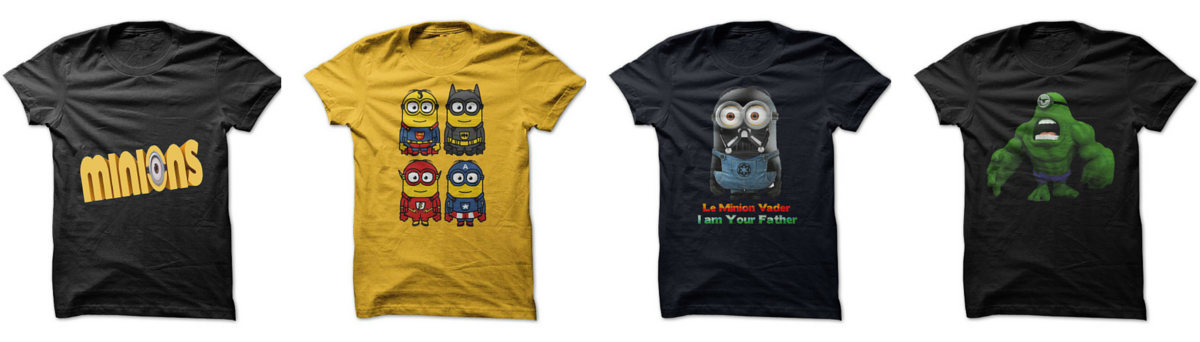 Headline for Minion T-Shirts For Adults