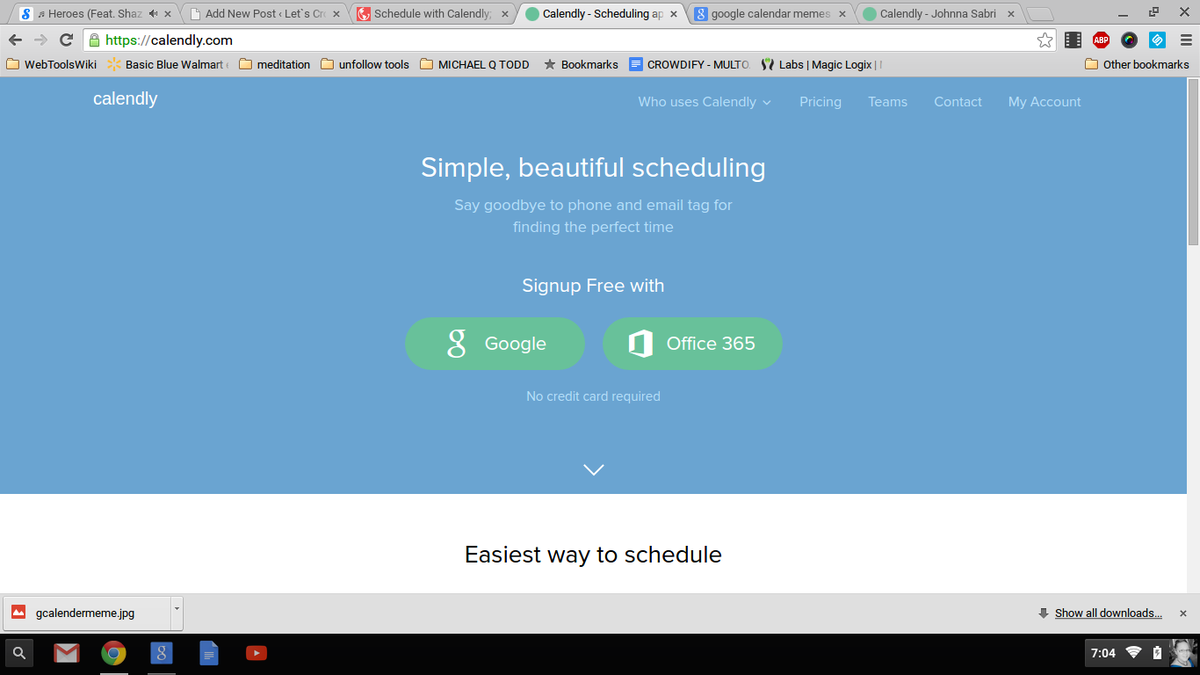 Headline for Tips and Suggestions to Using Calendly #Crowdify #GetItDone
