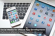 iPhone Developers Leveraging Social Media for iPhone App Development
