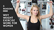 3 Reasons Why Weight Exercise Work for Women