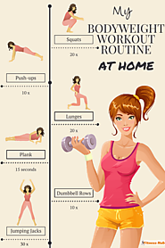 Bodyweight Circuit Routine for Beginners