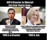 Steve: The result is a disaster Notley: We're ...
