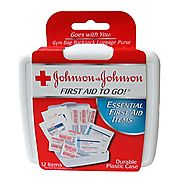 Johnson & Johnson Red Cross First Aid To Go First Aid Kit(Pack of 48)