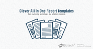 Manage all your business reports in an efficient way. Save your time!