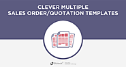 Odoo Clever Multiple Sales Order & Quotation Templates App