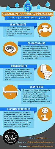 Top 5 Common Plumbing Problems