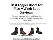 Best Logger Boots for Men - Work Boot Reviews