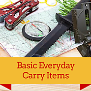 Everyday Carry Items For Survivalists And Preppers