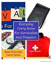 Everyday Carry Items For Survivalists And Preppers on Flipboard