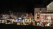 Topeka Christmas Light Display Tour