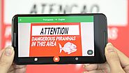 How Google Translate Makes Signs Instantly Readable - #NatAndLo Ep 3