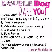 The Plexus Double Dog Dare You Challenge