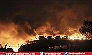 Massive Warehouse Explosions in China's City Tianjin Kill More Than 43, hundreds Wounded