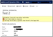 How To Show Form Level Notification On Any Microsoft Dynamics CRM Page
