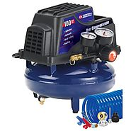 Best Air Compressor Under $100 -Campbell Hausfeld FP2028 1-Gallon Oil-Free Pancake Air Compressor