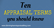 10 Appraisal terms you should know - Birmingham Appraisal Blog