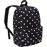 Black and White Polka Dot Backpack - Loungefly Black/White Skull Polka Dot Backpack - Backpacks n BagsBackpacks n Bags