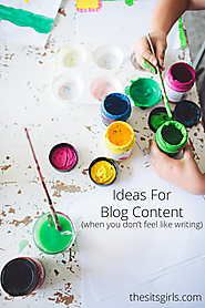 9 Ideas for Blog Content (When You Don't Feel Like Writing)