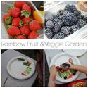 Toddler Approved!: Planting a Rainbow Fruit & Veggie Garden
