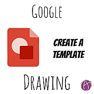 Google Draw: Create a Drawing Template