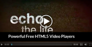 25 Powerful Free HTML5 Video Players - HTML5 Video and Audio Players