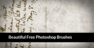 45 Beautiful Free Brushes for Photoshop of 2013