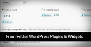40 Powerful Free Twitter WordPress Plugins & Widgets