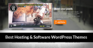 25 Multi Functional Responsive WordPress Hosting & Software Themes