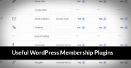 30 Useful WordPress Membership Plugins - Make more Subscribers