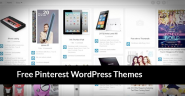 20 Best Free Pinterest WordPress Themes, WP Pinterest Themes