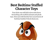 Best Bedtime Stuffed Character Toys