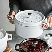 Staub Cocotte Cookware in White - Cool Kitchen Things