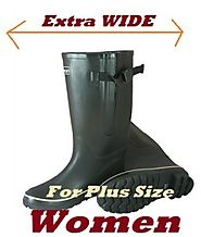 Cute Extra Wide Calf Rain Boots For Plus Size Women on Flipboard