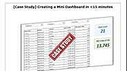 Excel Dashboards - YouTube