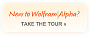 Wolfram|Alpha: Computational Knowledge Engine: contributed by H. Chick
